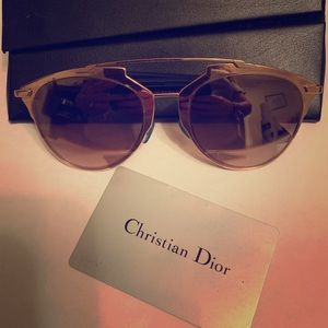 Christian Dior Sunglasses with case.